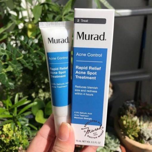 Gel trị mụn Murad Rapid Relief Acne Spot Treatment