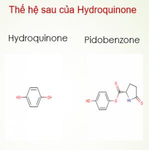 Hoạt chất Pidobenzone 4% điều trị nám là gì Ưu điểm so với hoạt chất Hydroquinone