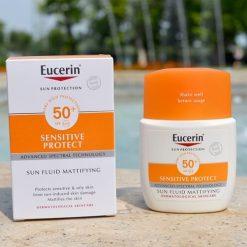 Kem Chống Nắng Eucerin Sun Fluid Mattifying SPF 50+ 50mlKem Chống Nắng Eucerin Sun Fluid Mattifying SPF 50+ 50ml