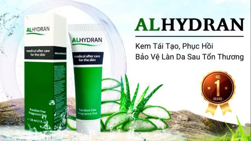 Kem alhydran bảo vệ phục hồi da sau tổn thương