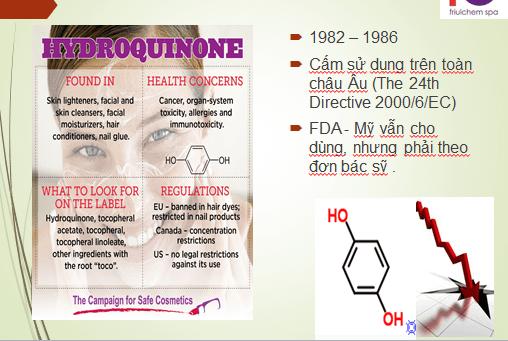 hydroquinone có tốt không