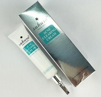 kem trị mụn sakura acne clearing cream nhật bản giá bao nhiêu