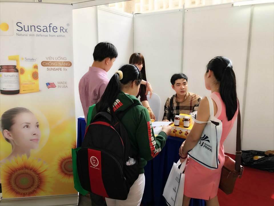 viên chống nắng sunsafe hội nghị người tiêu dùng