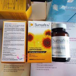 viên uống chống nắng 60 viên sunsafe rx 60 capsules