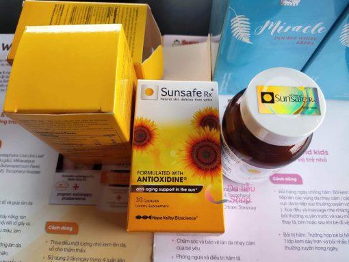 viên uống chống nắng sunsafe rx
