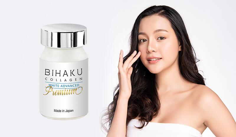 vien-uong-trang-da-bihaku-collagen-white-advanced-premium-330mg-30-vien