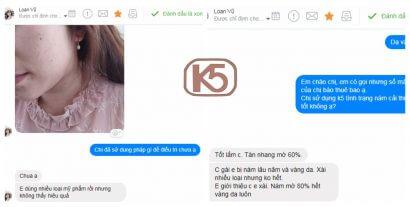 Đánh giá kem trị nám K5 LIpogel