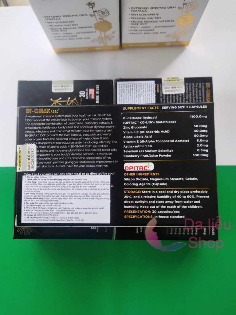 Viên uống BI-GMAX 1350 giá bao nhiêu Mua ở đâu chính hãng