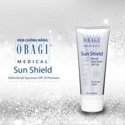 kem chống nắng obagi sun shield matte broad spectrum spf 50 premium