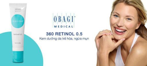 kem obagi retinol 0.5 có tốt không