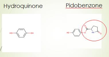 pidobenzone và Hydroquinone