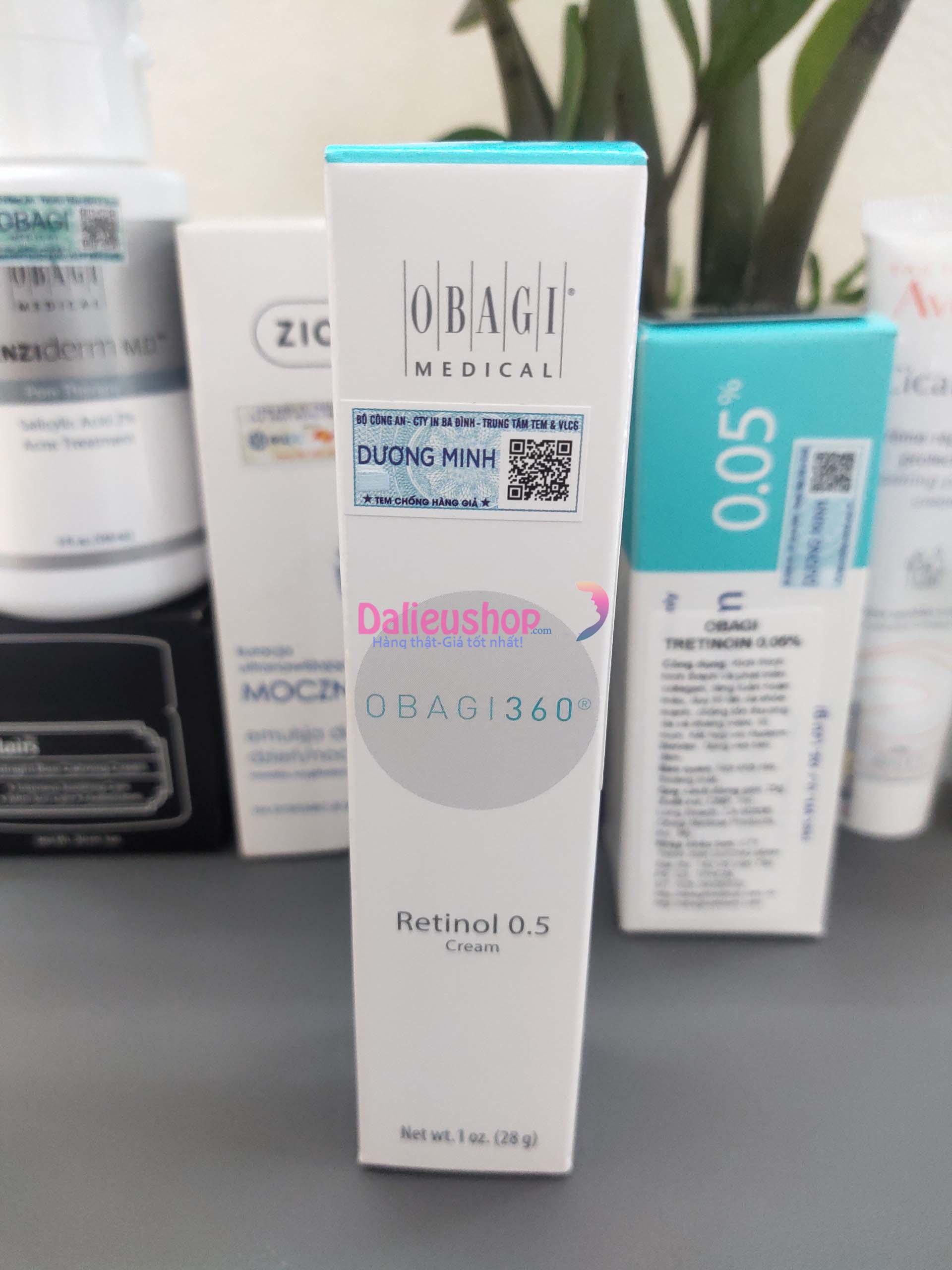 retinol obagi 0.5 giá