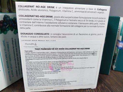 COLLAGEN ĐẠI DƯƠNG THỦY PHÂN COLLAGENAT NO - AGE DRINK PHARMALIFE