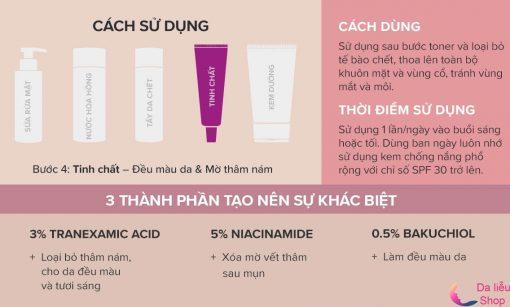 Cách dùng paula's choiceTranexamic acid