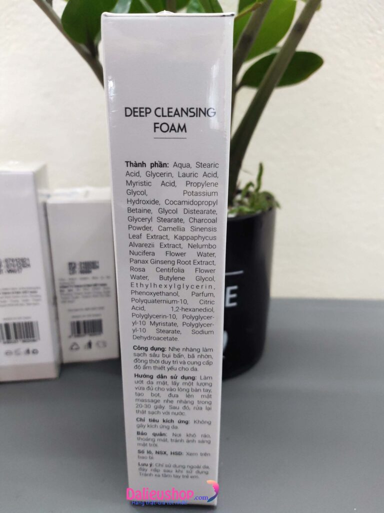 Sửa rửa mặt Ktimi Deep Cleansing Foam 100g cho da hỗn hợp nhờn mụn giá bao nhiêu Mua ở đâu