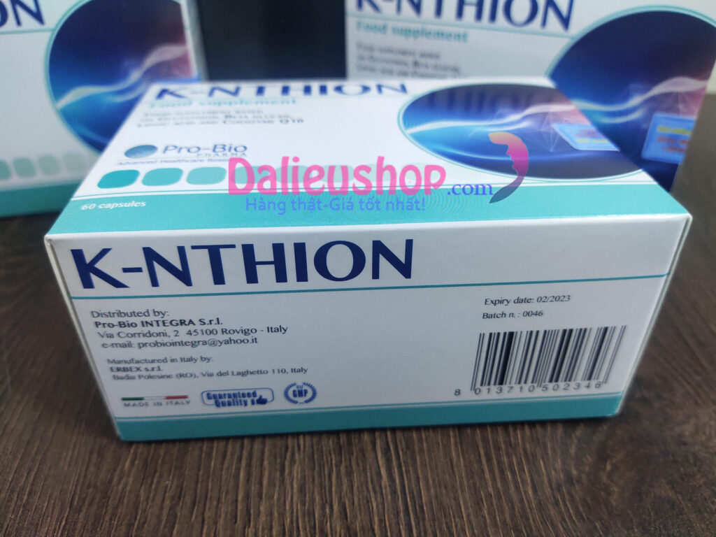 k-nthion made in italy