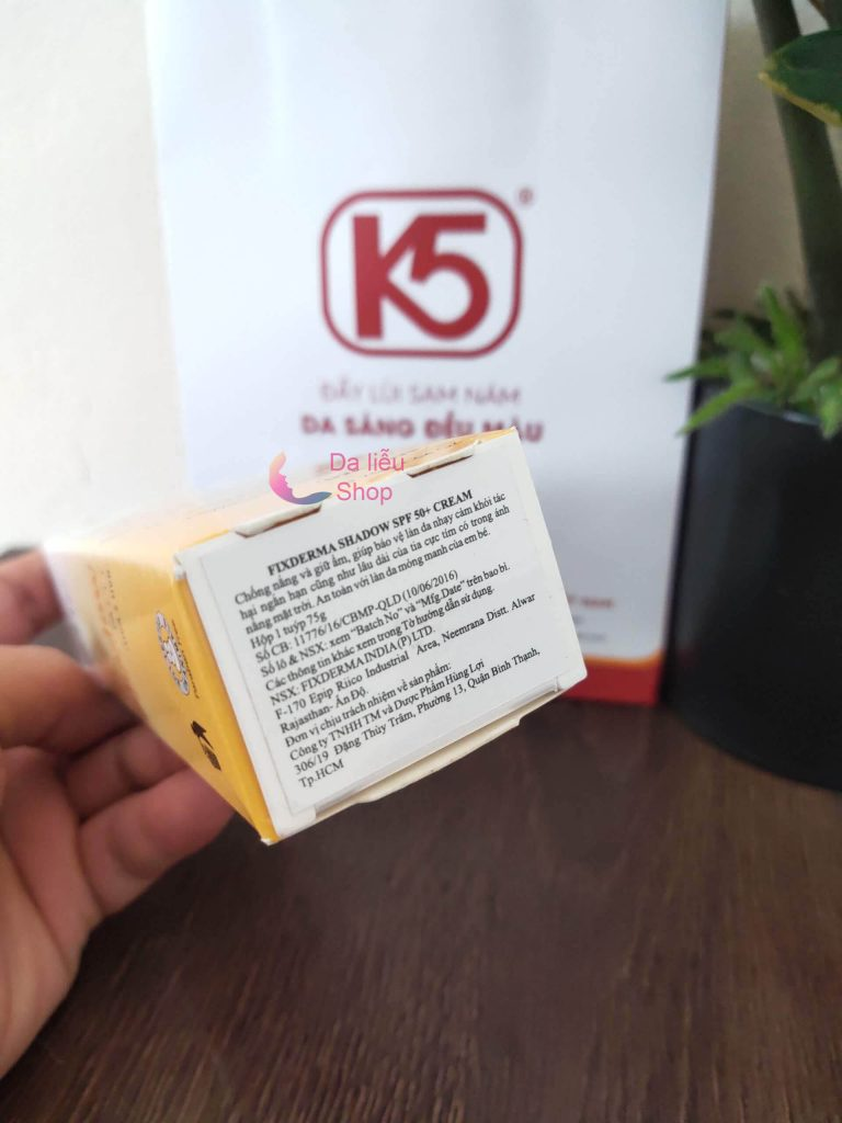 kem chống nắng fixderma shadow review