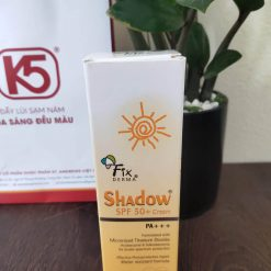 kem chống nắng fixderma shadow spf 50 review