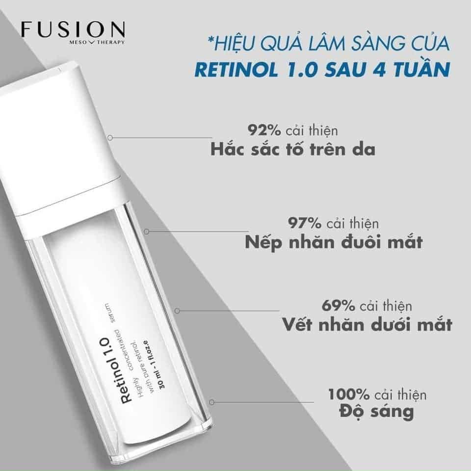 retinol 1 fusion có tốt không