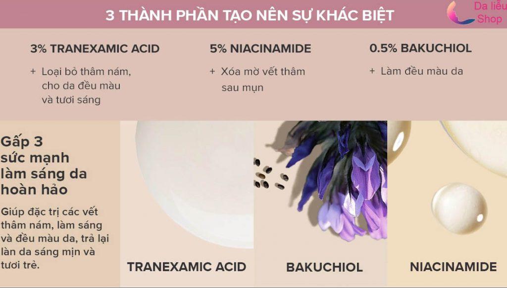 thành phần Tranexamic acid paula's choice