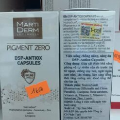 Viên uống chống nắng Matiderm Pigment Zero DSP Antiox Capsules