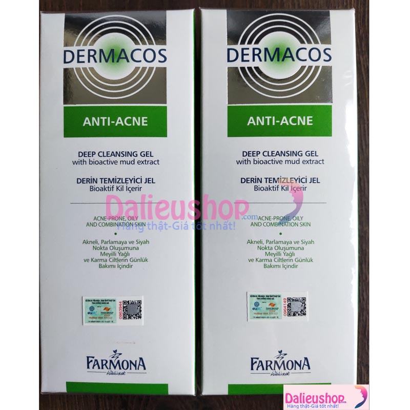 dermacos anti-acne deep cleansing gel