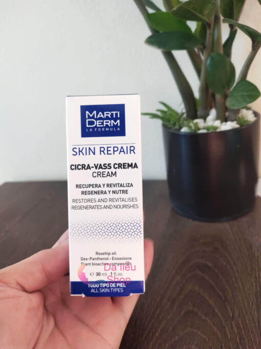 martiderm skin repair cicra vass crema có tốt không