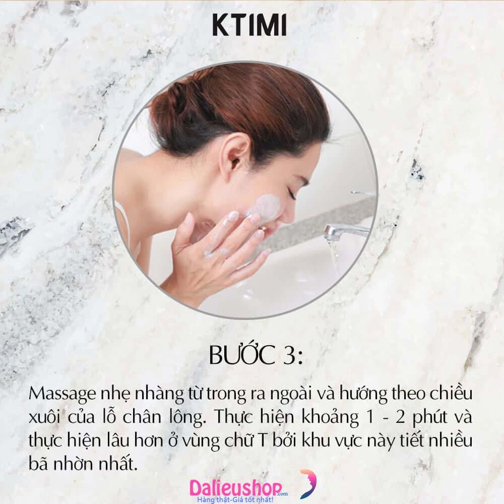 Cách dùng sữa rửa mặt fusin acne cleanser
