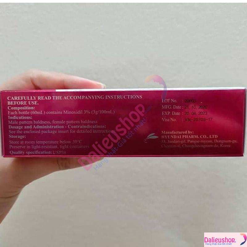 Mynoxyl-minoxidil 3 dạng xịt