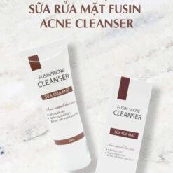 fusin acne sữa rửa mặt