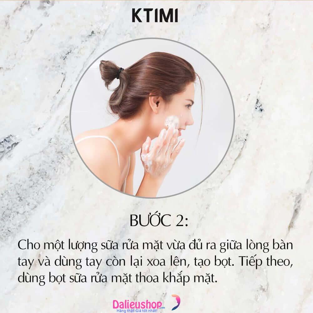 sữa rửa mặt fusin acne cleanser dùng ntn