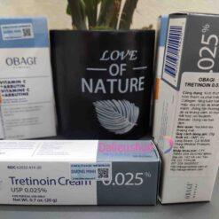 tretinoin cream 0.025 obagi chính hãng