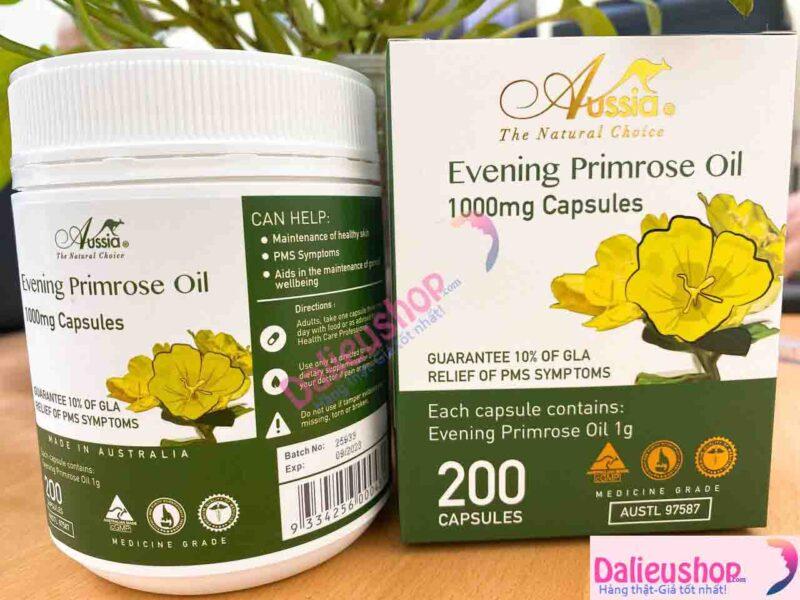 Hoa Anh Thảo Evening Primrose Oil 1000mg Capsules