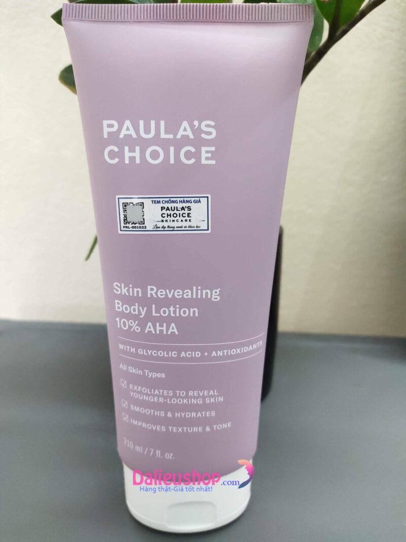paula's choice 10 aha body lotion